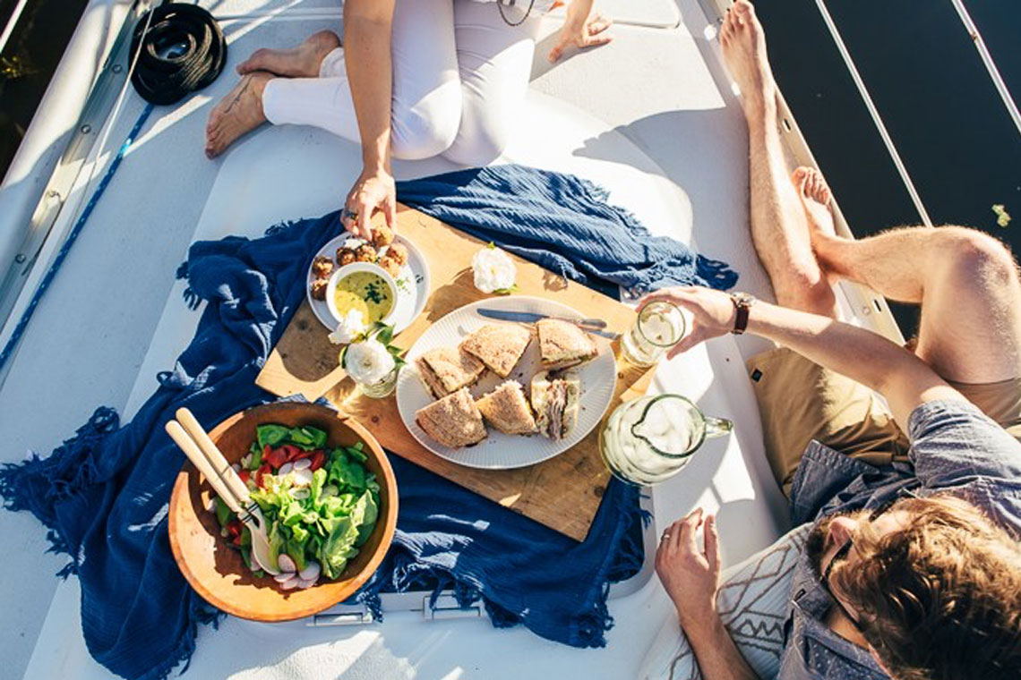 Provisions for no cooking boat recipes