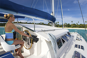 Catamaran charter = Your comfort on water